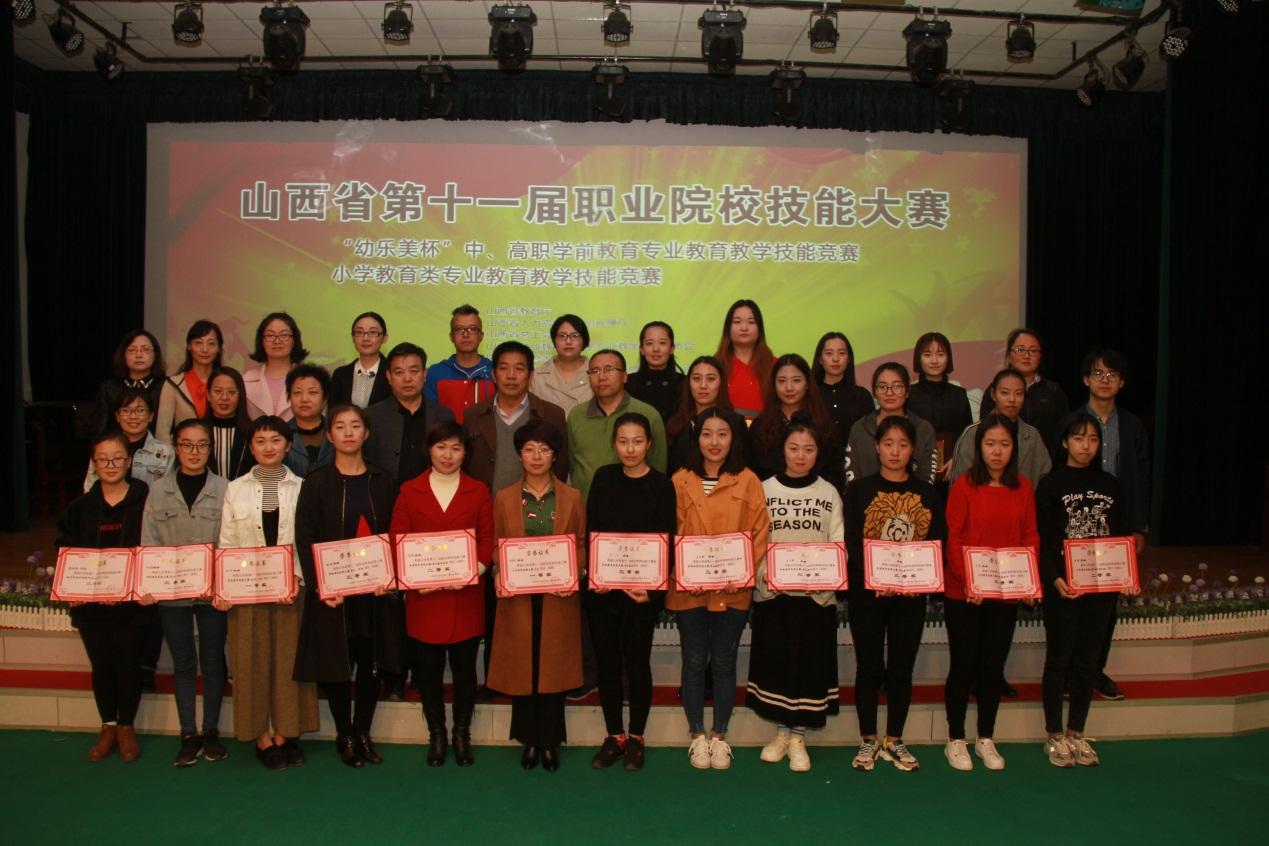 我校在山西省第十一届职业院校技能大赛中喜获佳绩