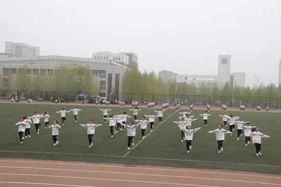 阳泉师专运动会——团体操表演(三)